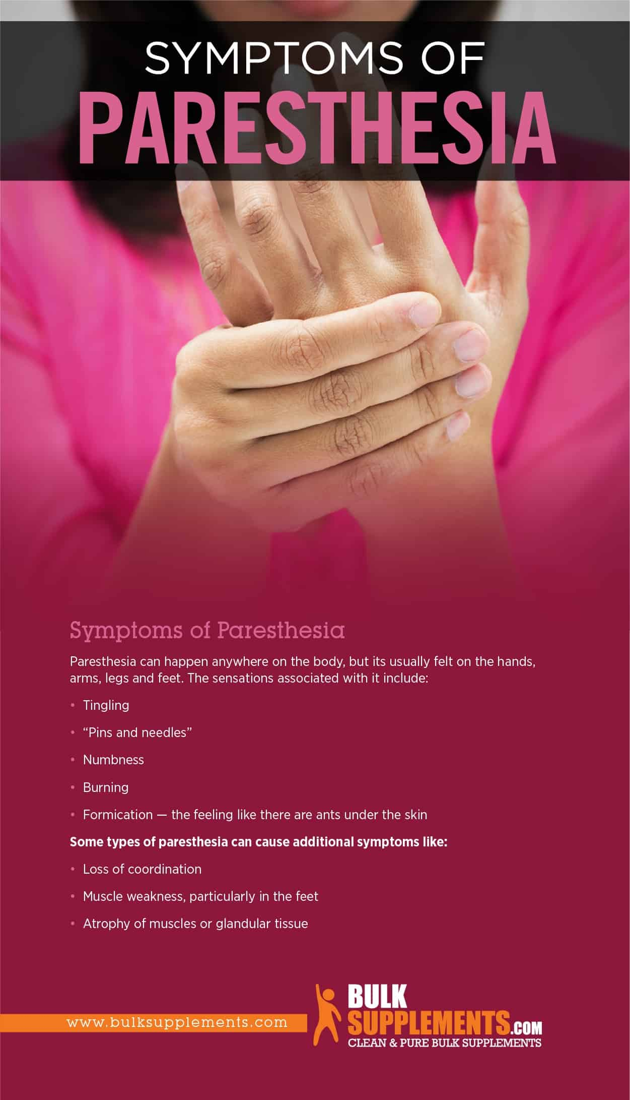 Symptoms of Paresthesia