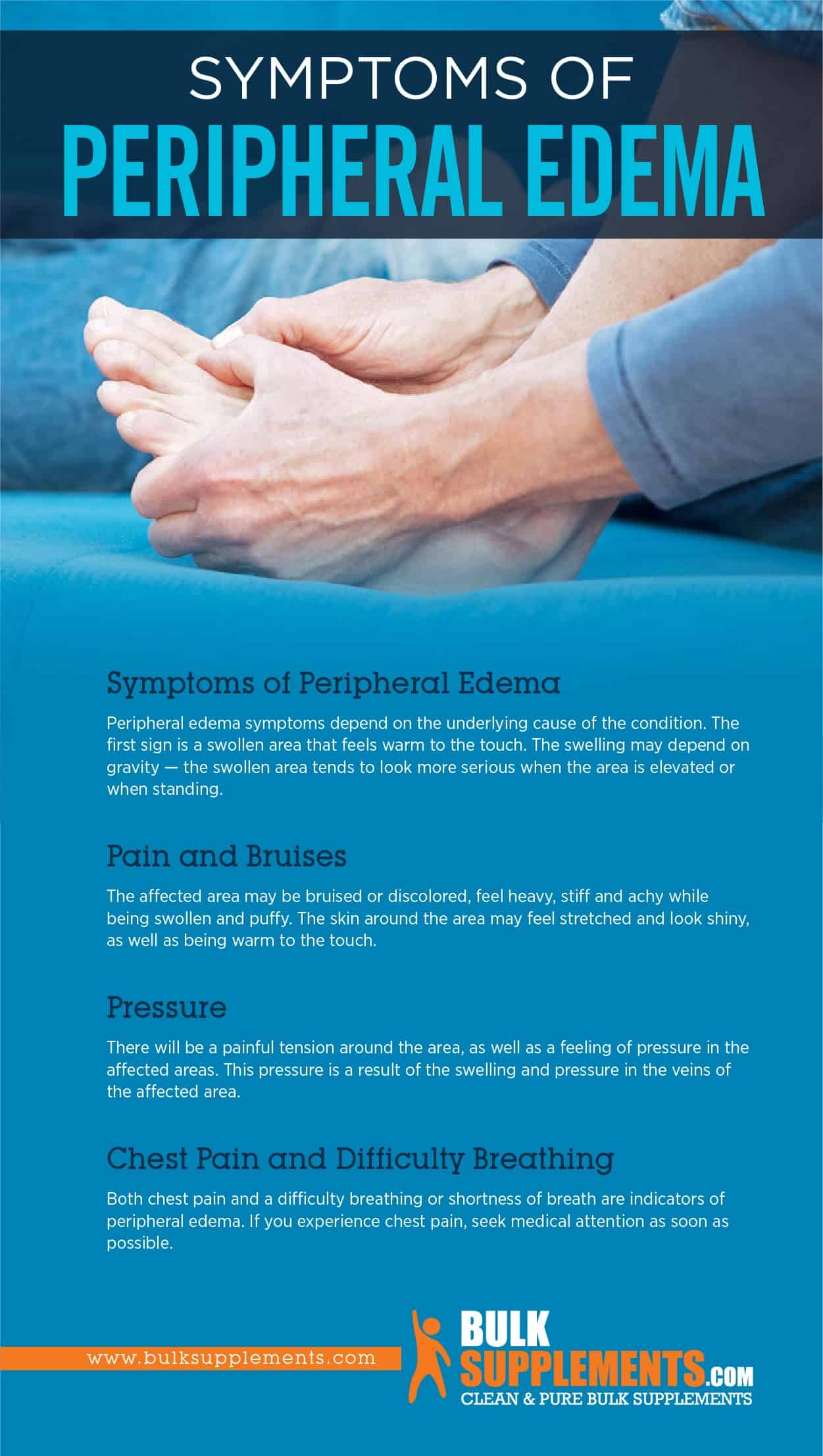 Symptoms of Peripheral Edema