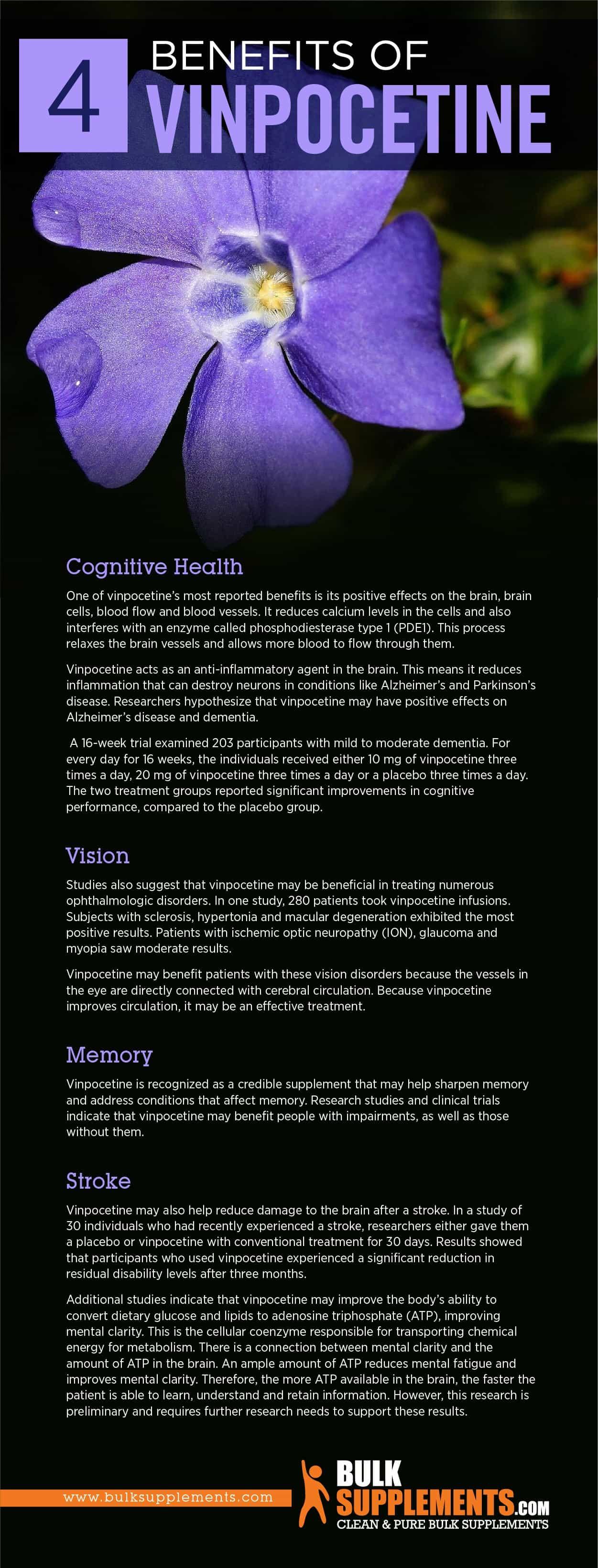 Benefits of Vinpocetine