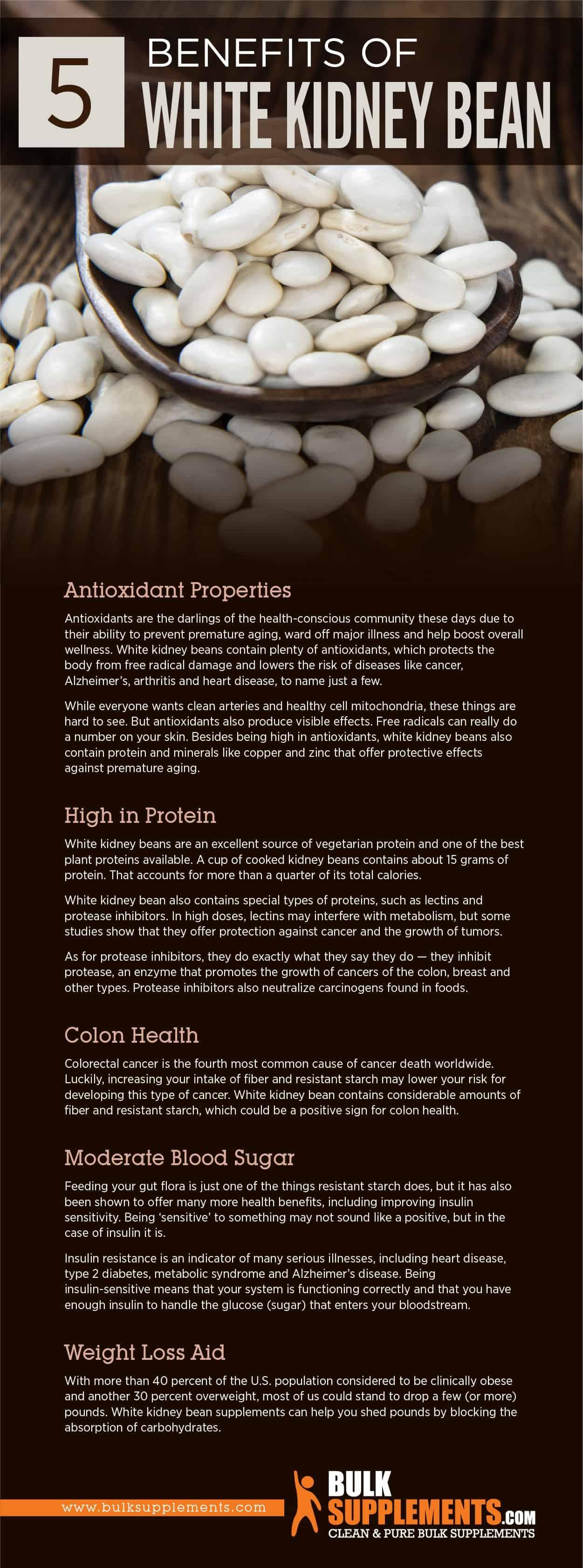 Benefits of White Kidney Bean