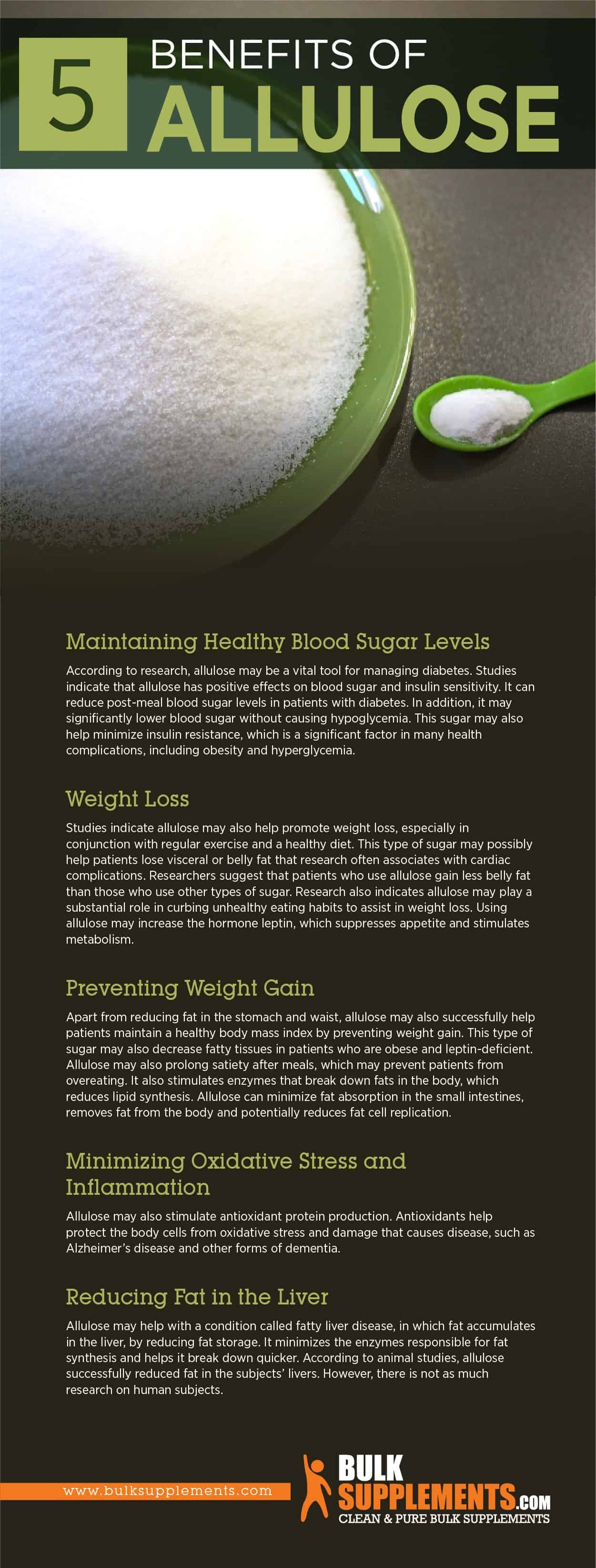 Benefits of Allulose