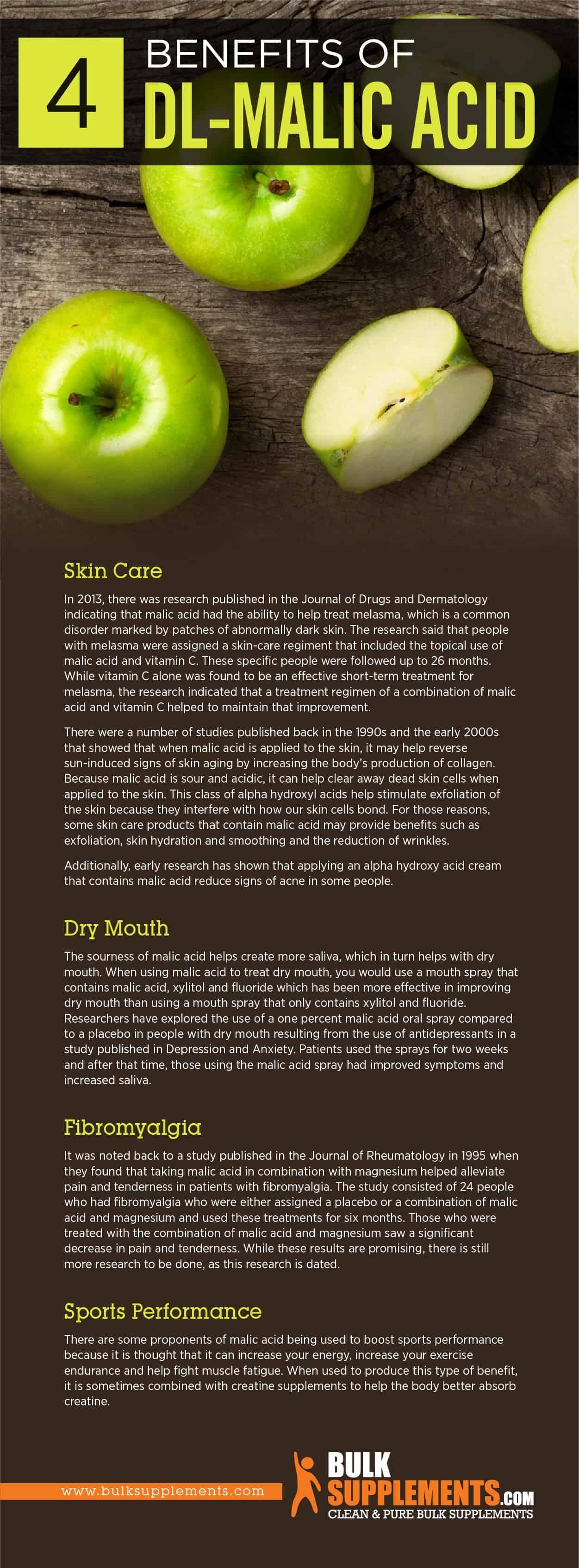 Benefits of DL-Malic Acid