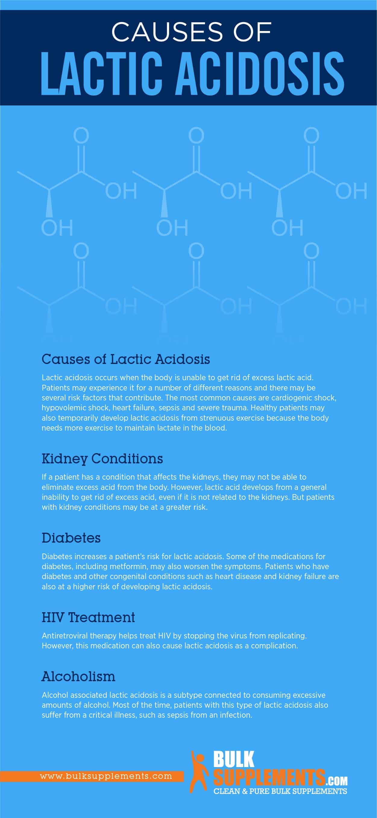 Causes of Lactic Acidosis