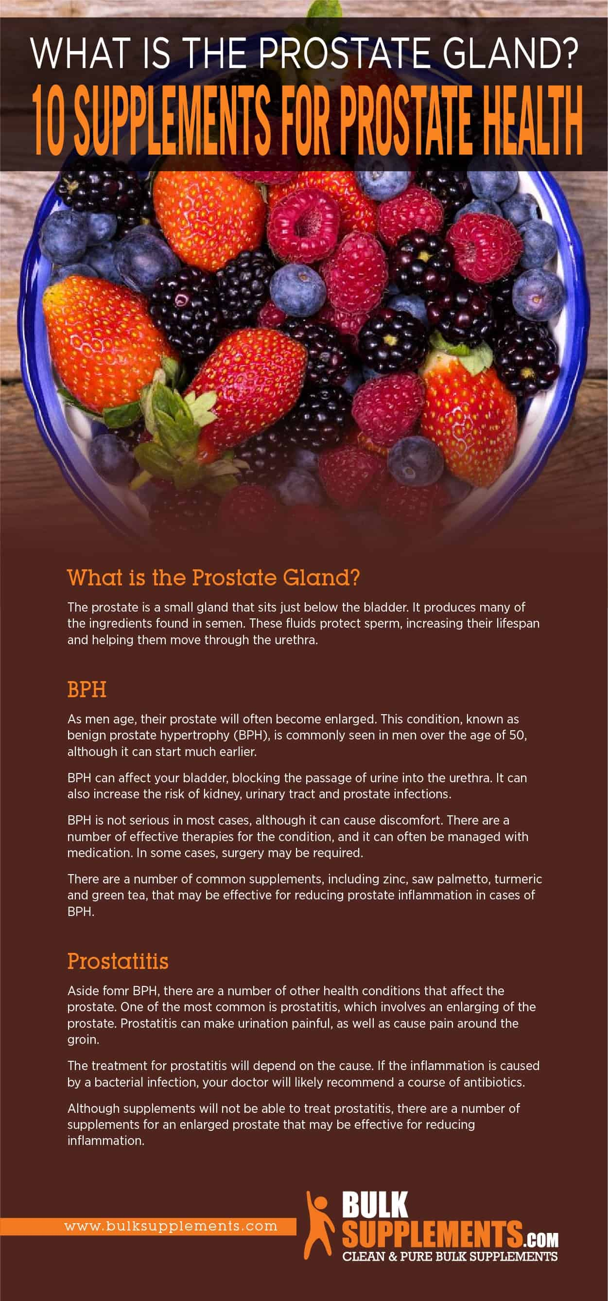 10 Supplements for Prostate Health
