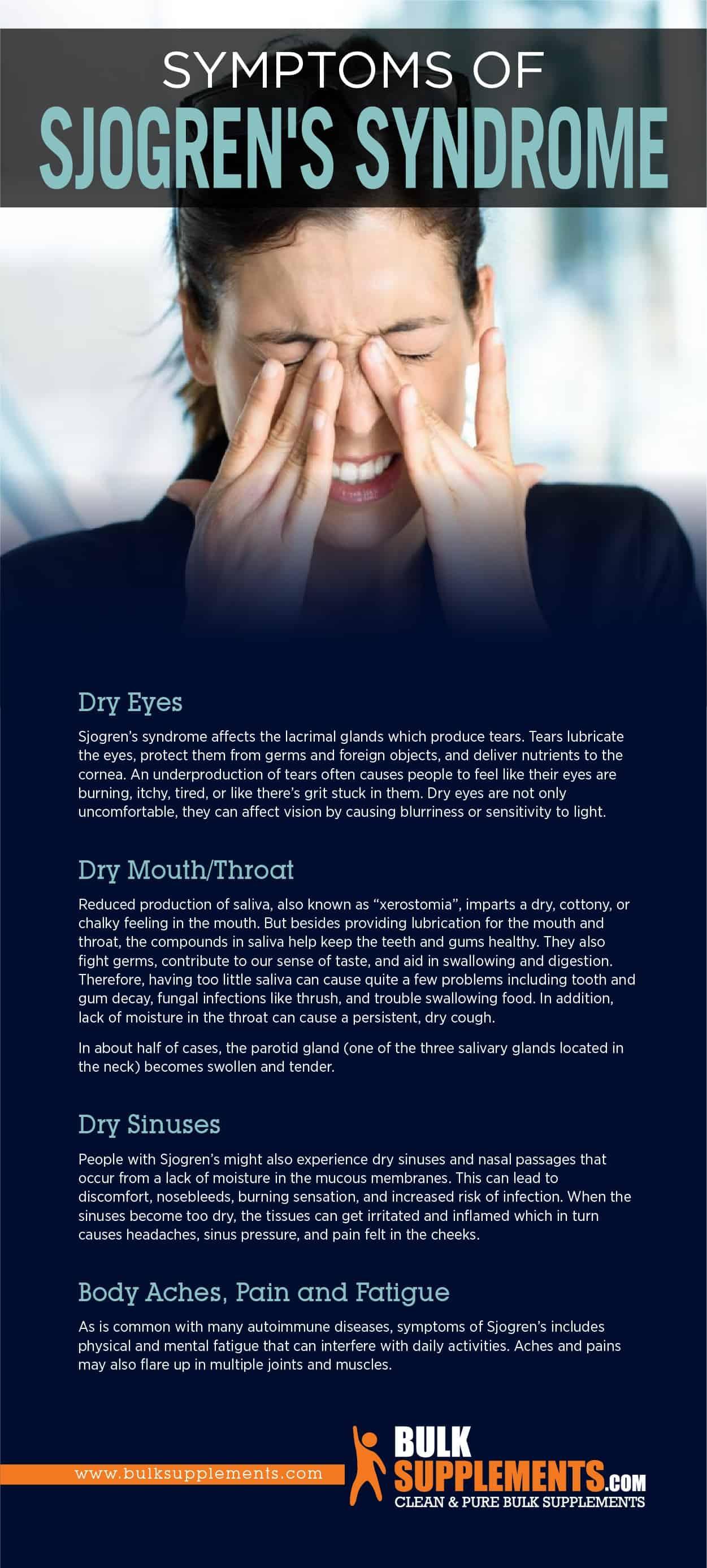 Symptoms of Sjogren's Syndrome