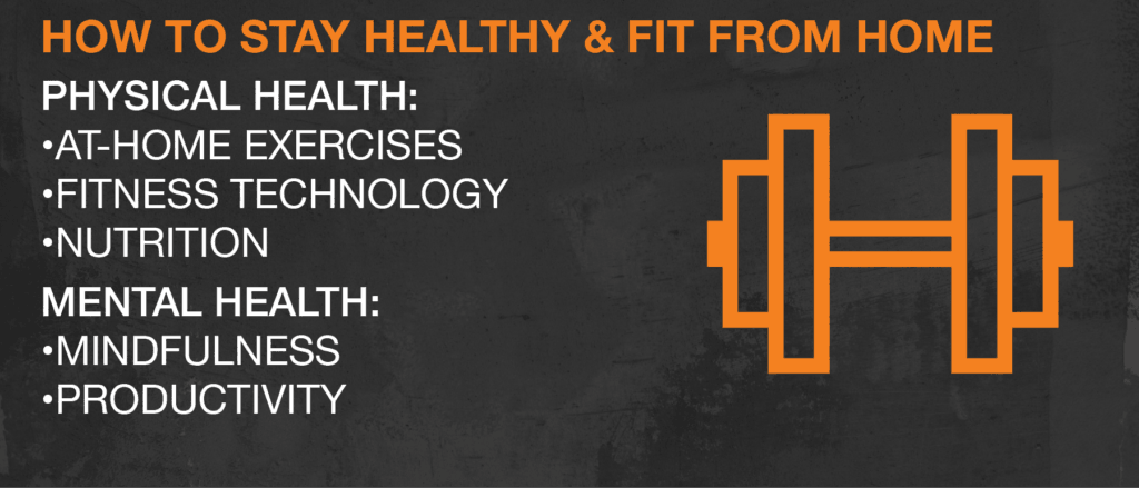 How to stay healthy & fit from home